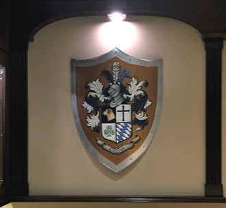 Medieval shield family crest  - wall decor