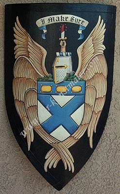 Nicoud  Coat of Arms medieval shield                                medieval shield