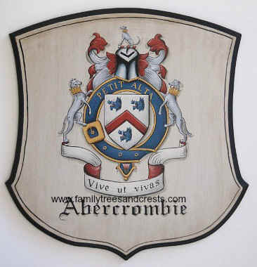 Abercrombie Coat of Arms painting