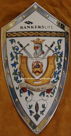 Bankers -  Quimby Coat of Arms knight shield