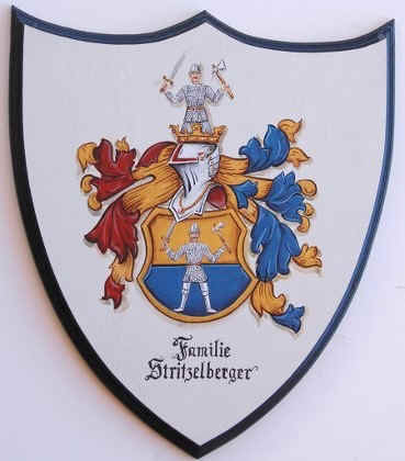 Stritzelberger  Coat of Arms painting