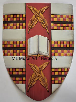 Medieval shield with Sotomayor Coat of Arms