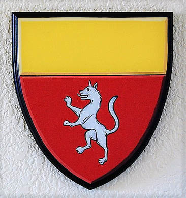 Burggraf Coat of Arms painting