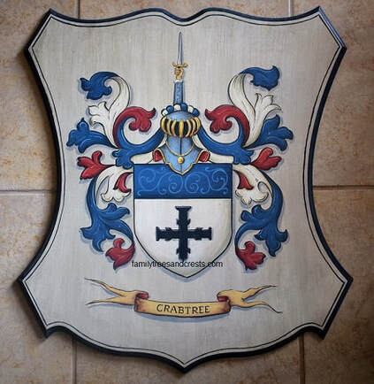 Craptree Coat of Arms wall plaque