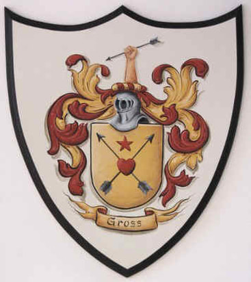 Gross Coat of Arms  painting