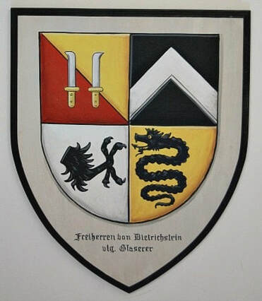 Faeh coat of arms - family crest painting